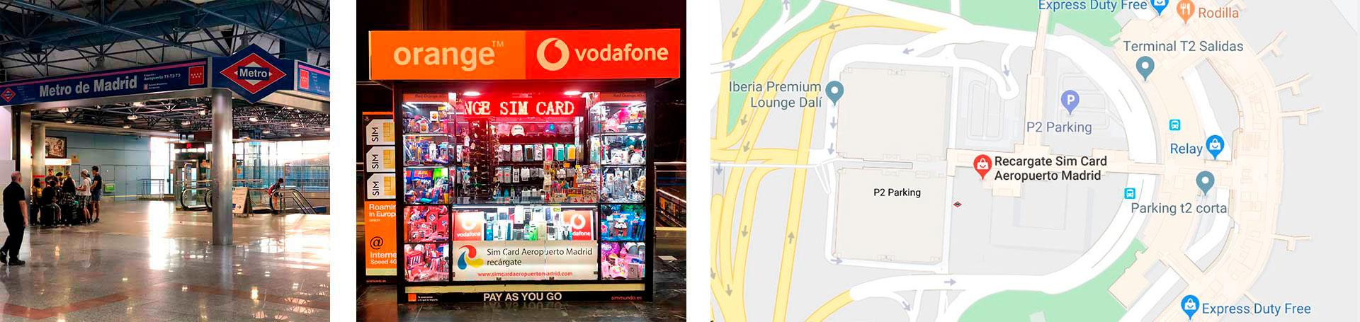 Sim Card at Madrid Airport – Orange Authorized Dealer